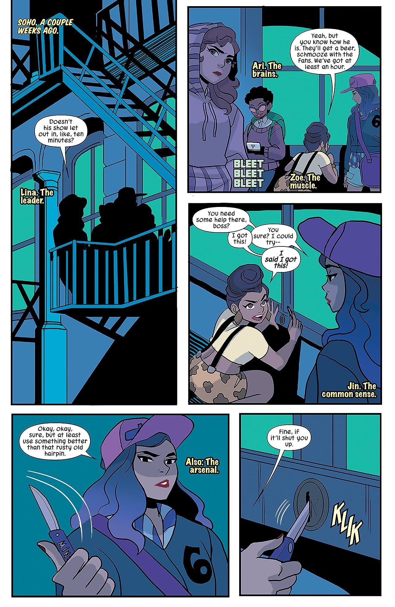 Patsy Walker, A.K.A. Hellcat! (2015-2017) #11