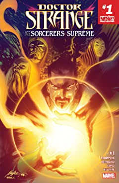 Doctor Strange and the Sorcerers Supreme (2016-2017) #1