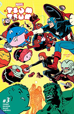 Marvel Tsum Tsum (2016) #3 (of 4)