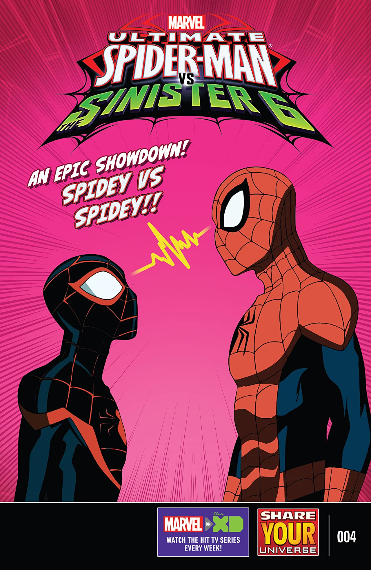Marvel Universe Ultimate Spider-Man vs. The Sinister Six (2016-2017) #4