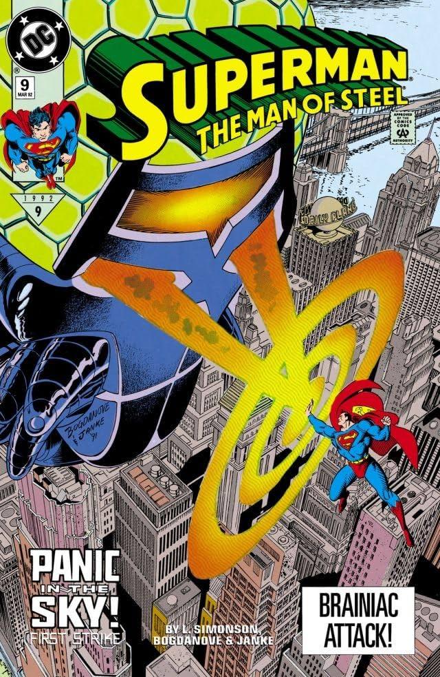 Superman: The Man of Steel (1991-2003) #9