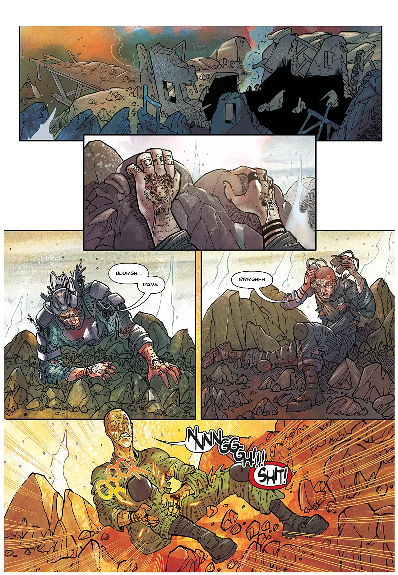 The Shadow of a Terrible Thing #5
