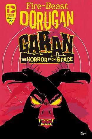 Fire-Beast - Dorugan vs Garan The Horror From Space #2