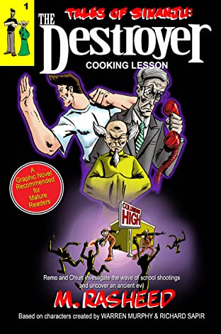 Tales of Sinanju: The Destroyer Vol. 1: Cooking Lesson