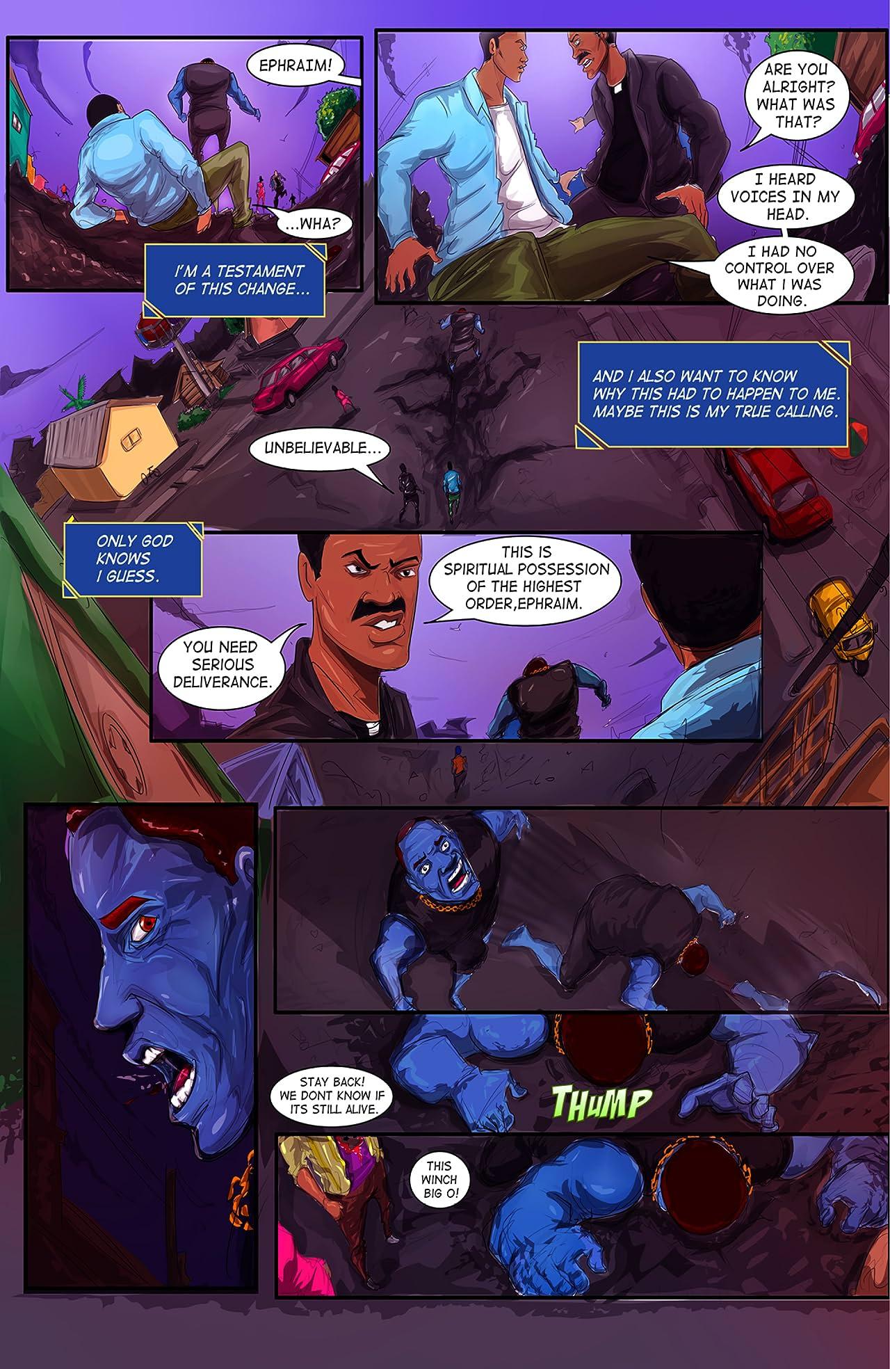 Shadow Justice #2