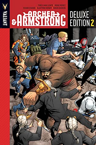 Archer & Armstrong Deluxe Edition Vol. 2