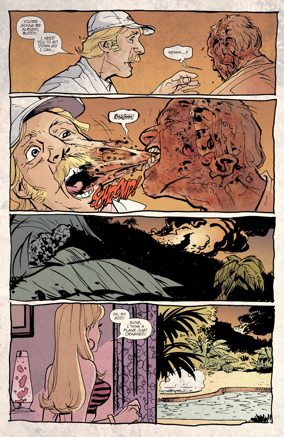 Crawl Space: XXXombies #1