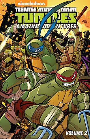 Teenage Mutant Ninja Turtles: Amazing Adventures Tome 2