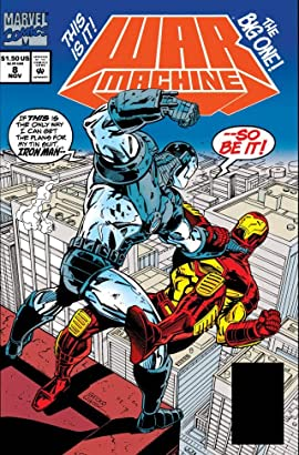 War Machine (1994-1996) #8