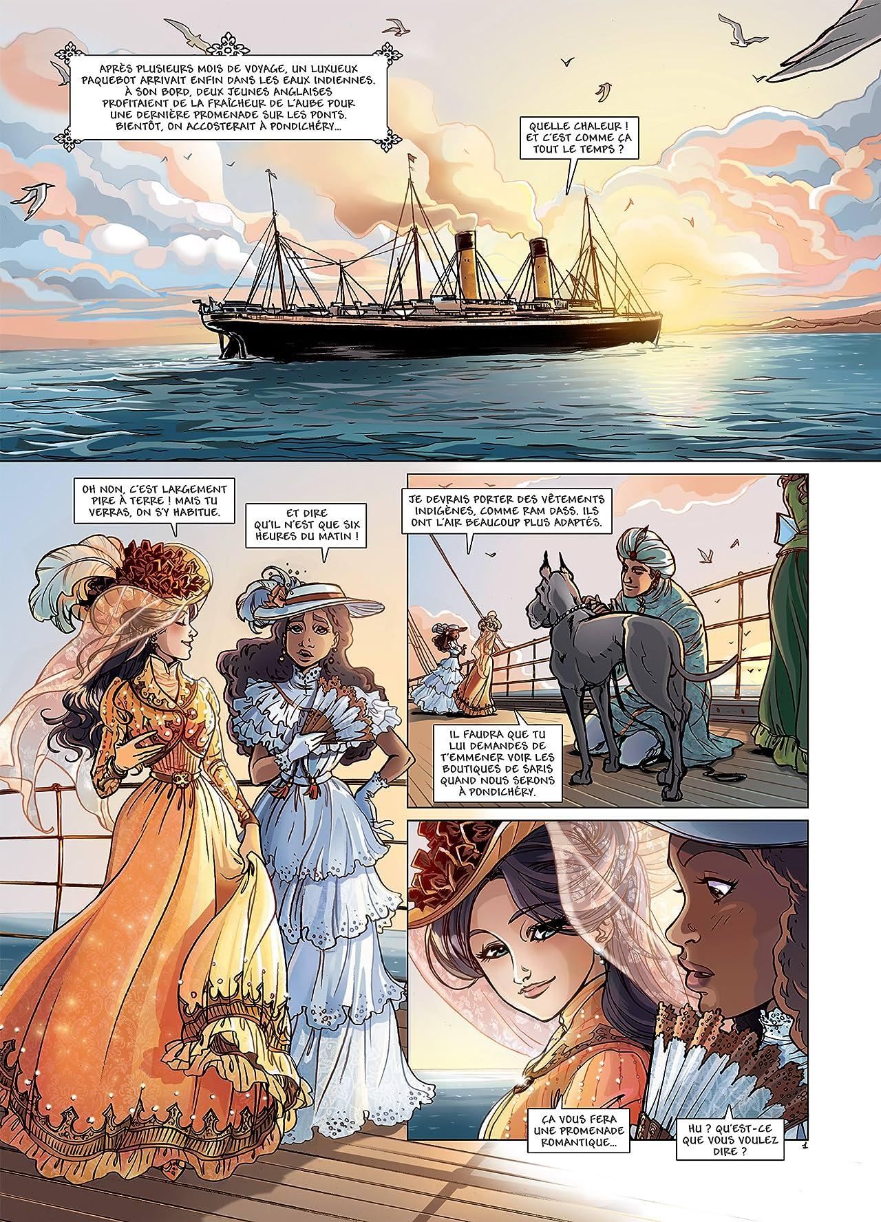 Princesse Sara Vol. 5: Retour aux Indes