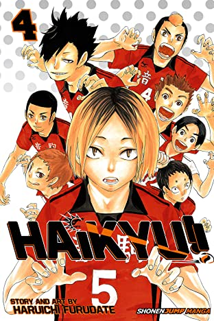 Haikyu!! Vol. 4