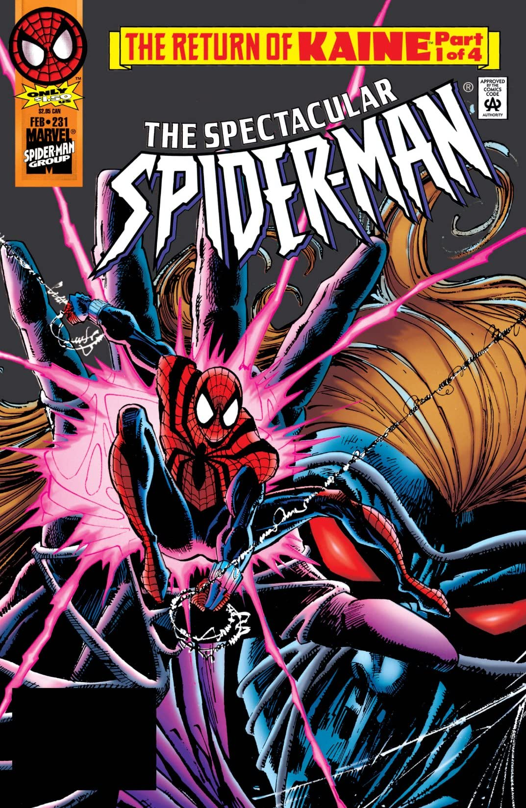 Peter Parker, The Spectacular Spider-Man (1976-1998) #231