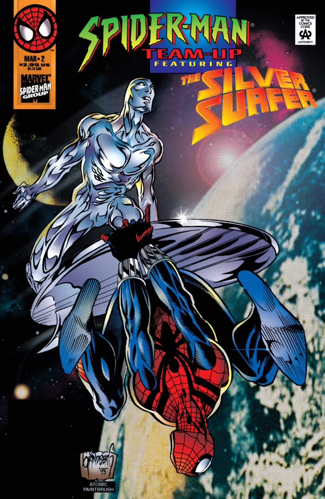 Spider-Man Team-Up (1995-1997) #2
