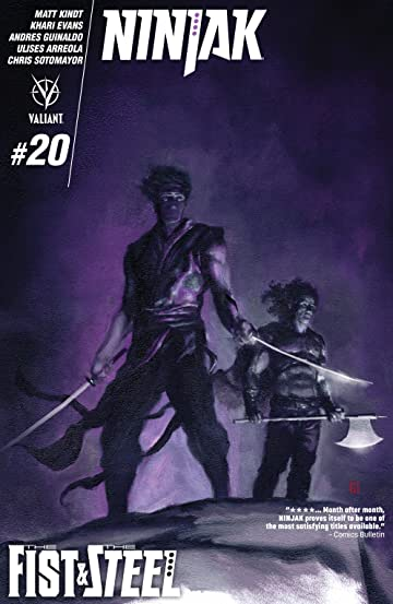 Ninjak (2015- ) #20: Digital Exclusives Edition