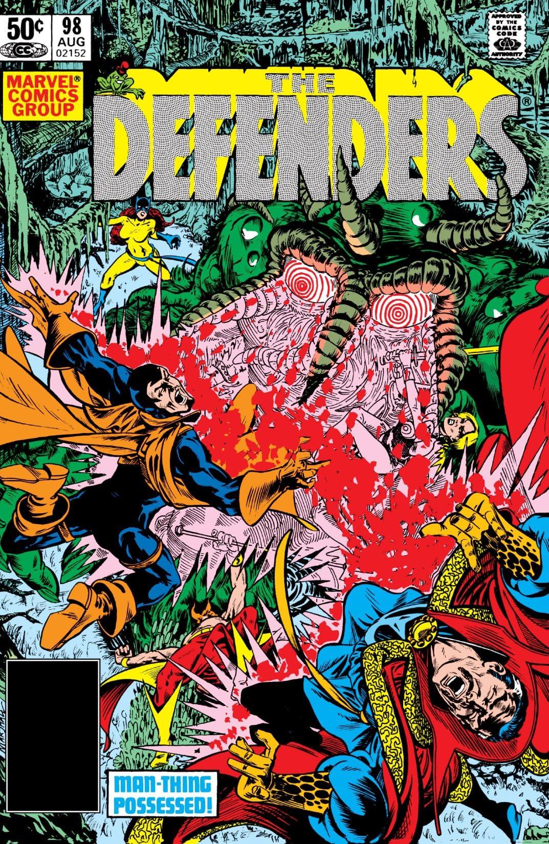 Defenders (1972-1986) #98