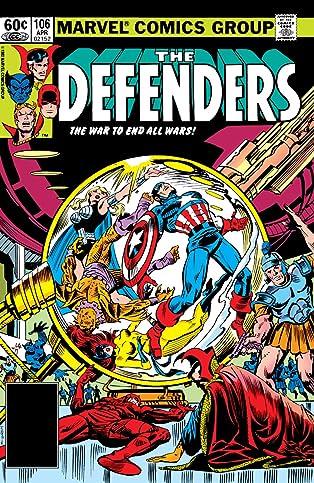 Defenders (1972-1986) #106