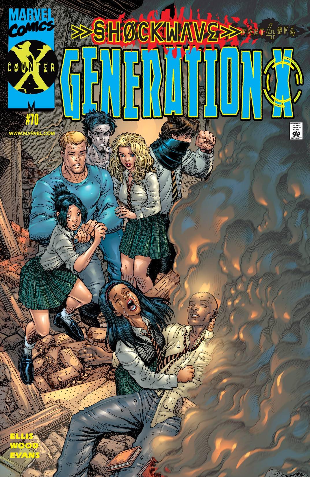 Generation X (1994-2001) #70