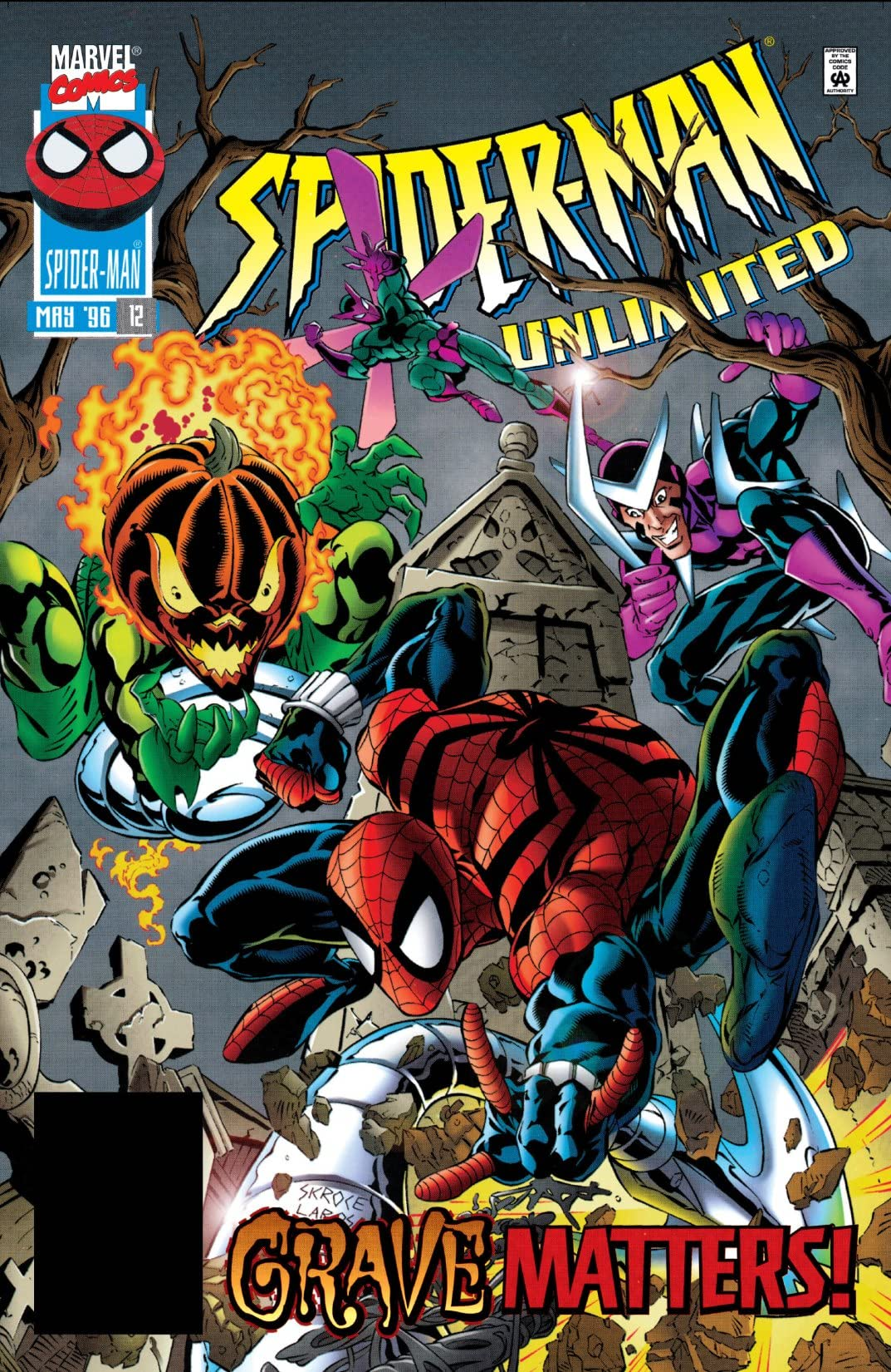 Spider-Man Unlimited (1993-1998) #12