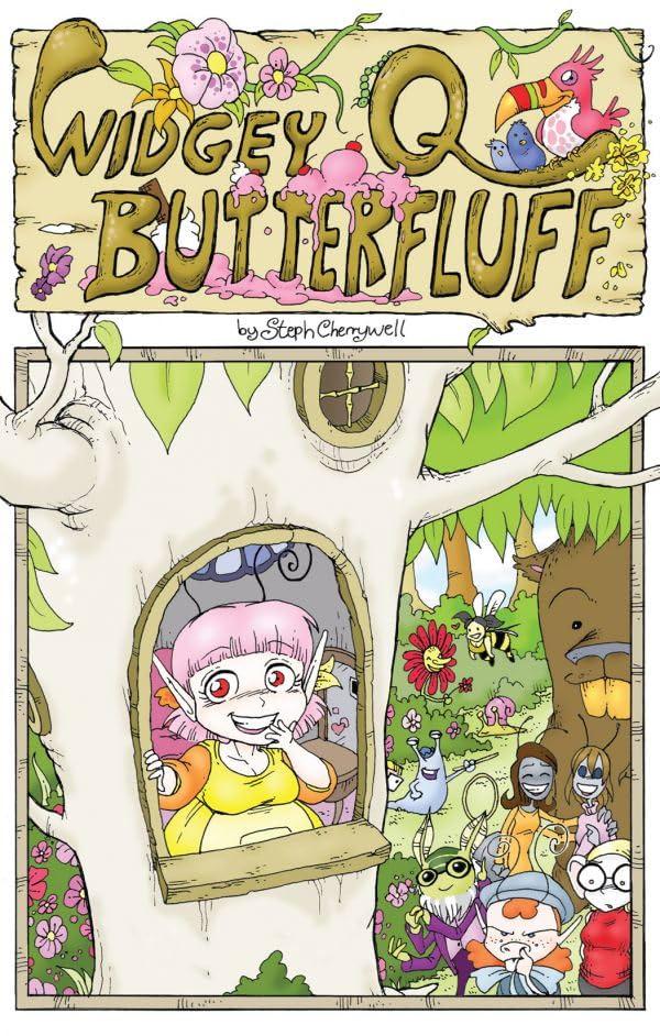 Widgey Q Butterfluff Vol. 1