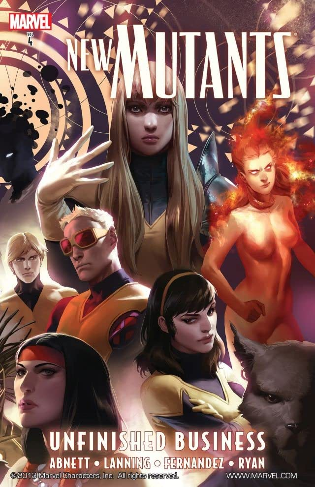 New Mutants Vol. 4: Unfinished Business