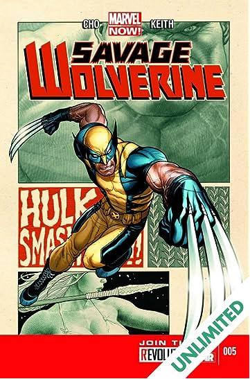 Savage Wolverine #5