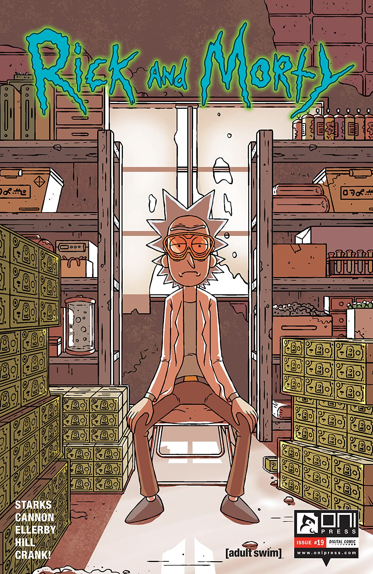 Rick and Morty #19