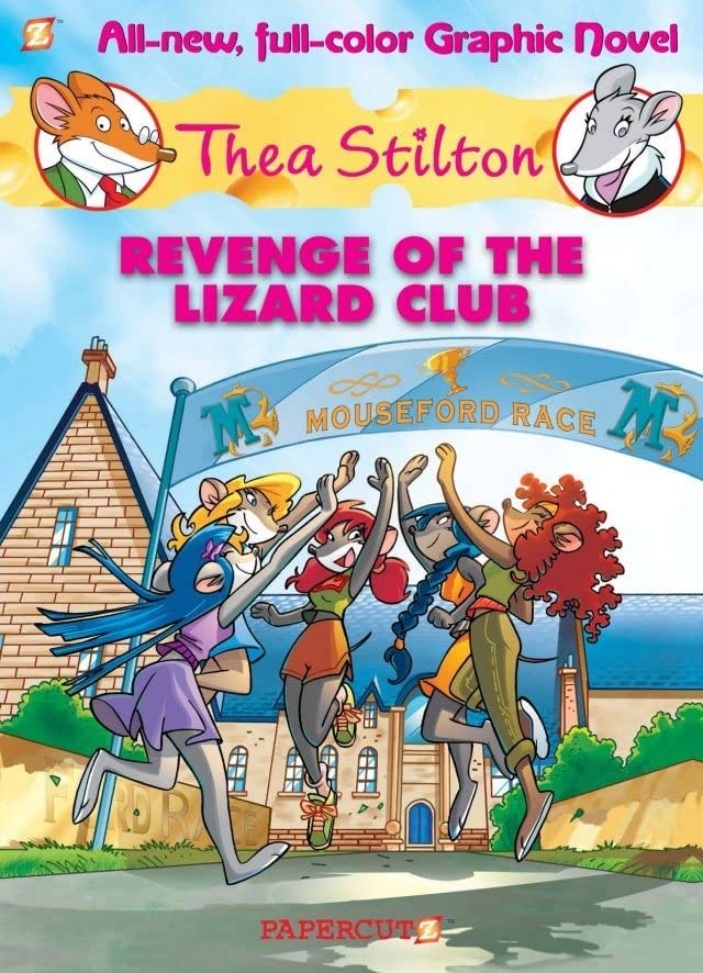 Thea Stilton Vol. 2: Revenge of the Lizard Club