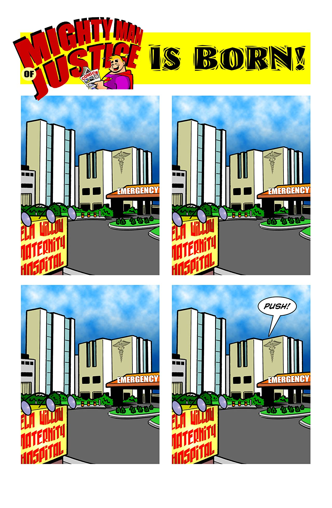 Holy Cow Comics #2