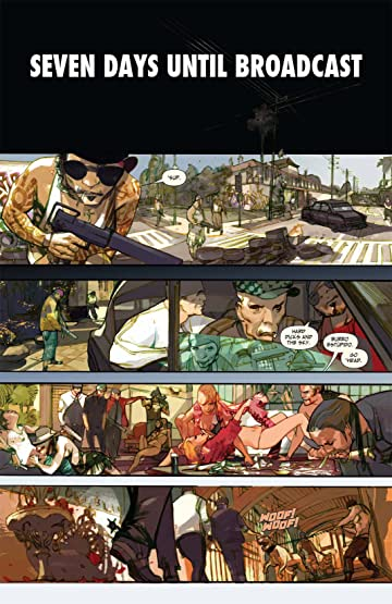 The Last Days Of American Crime 2 Of 3 Comics By Comixology