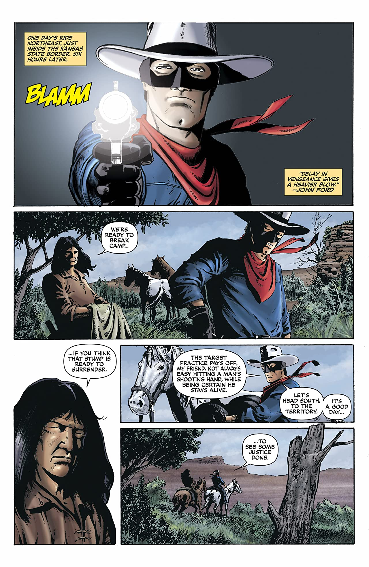 The Lone Ranger Vol. 2 #1