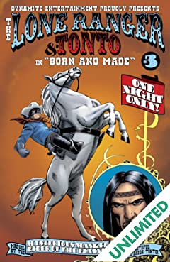 The Lone Ranger & Tonto #3 (of 4)