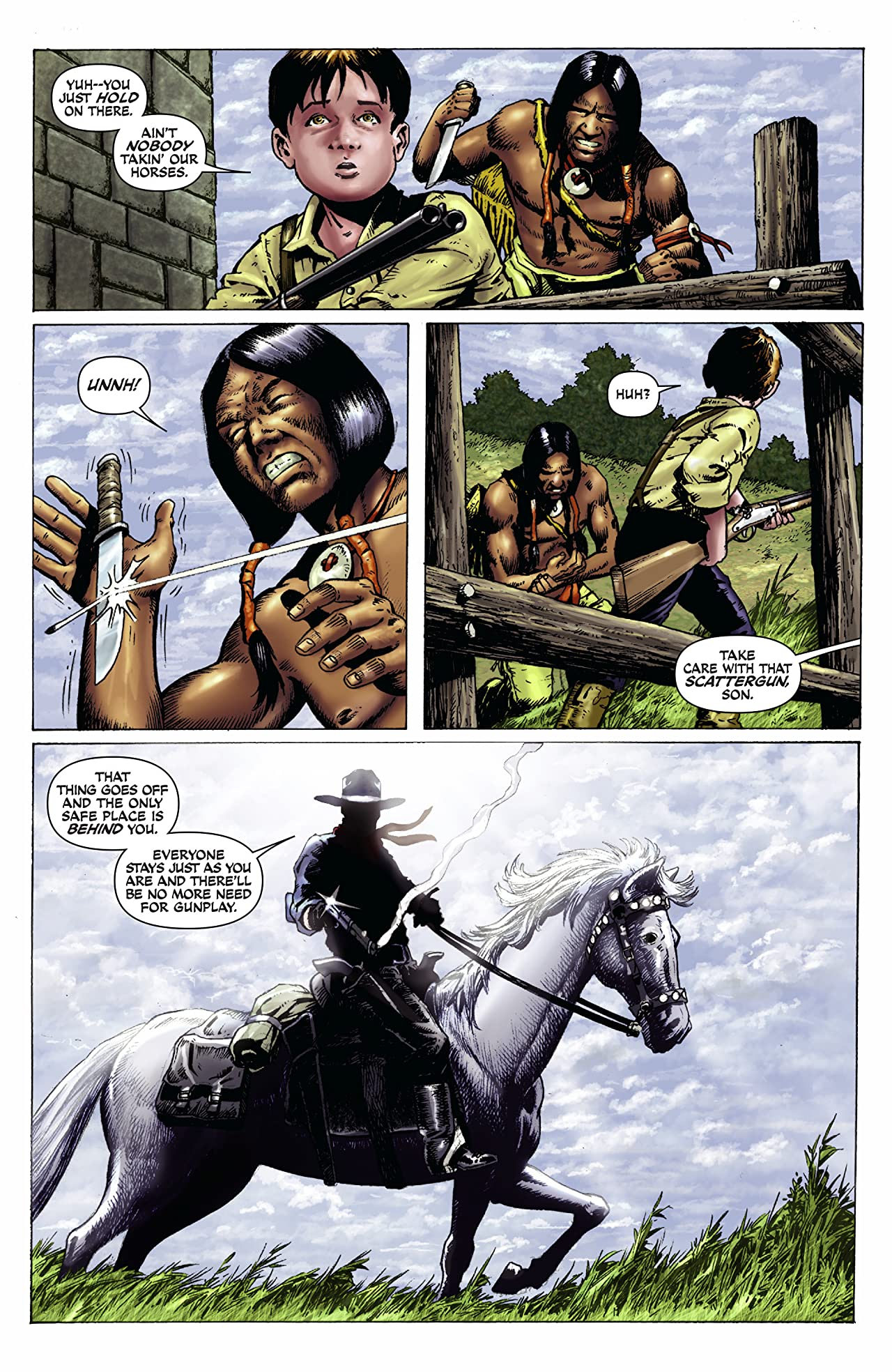 The Lone Ranger: Snake Of Iron #1 (of 4)