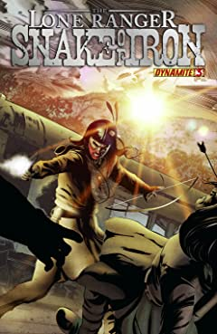 The Lone Ranger: Snake Of Iron No.3 (sur 4)