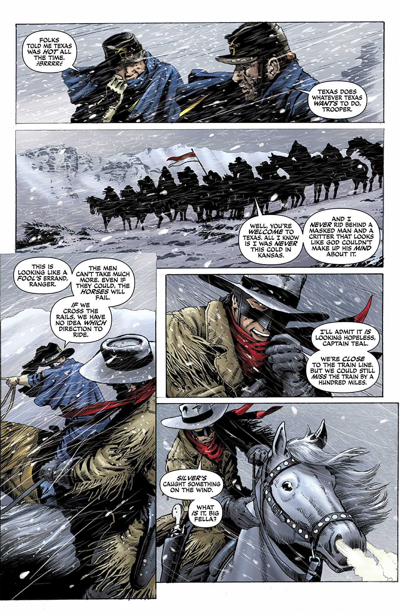 The Lone Ranger: Snake Of Iron #4 (of 4)