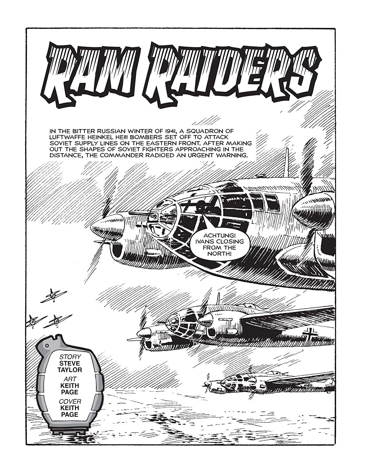 Commando #4941: Ram Raiders