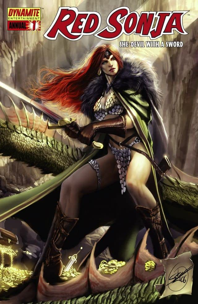 Red Sonja: She-Devil With a Sword - Annual #1