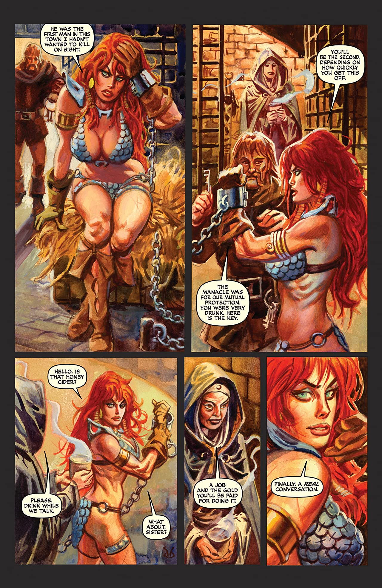 Red Sonja: She-Devil With a Sword - Annual #3