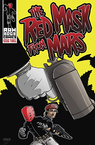 The Red Mask From Mars #3