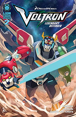 Voltron: Legendary Defender #2 (of 5)
