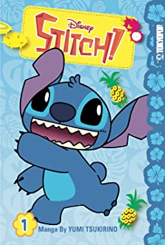Disney Manga: Stitch! Tome 1
