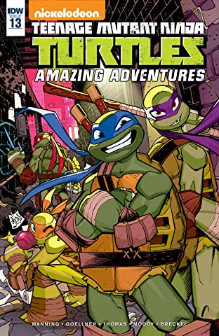 Teenage Mutant Ninja Turtles: Amazing Adventures No.13
