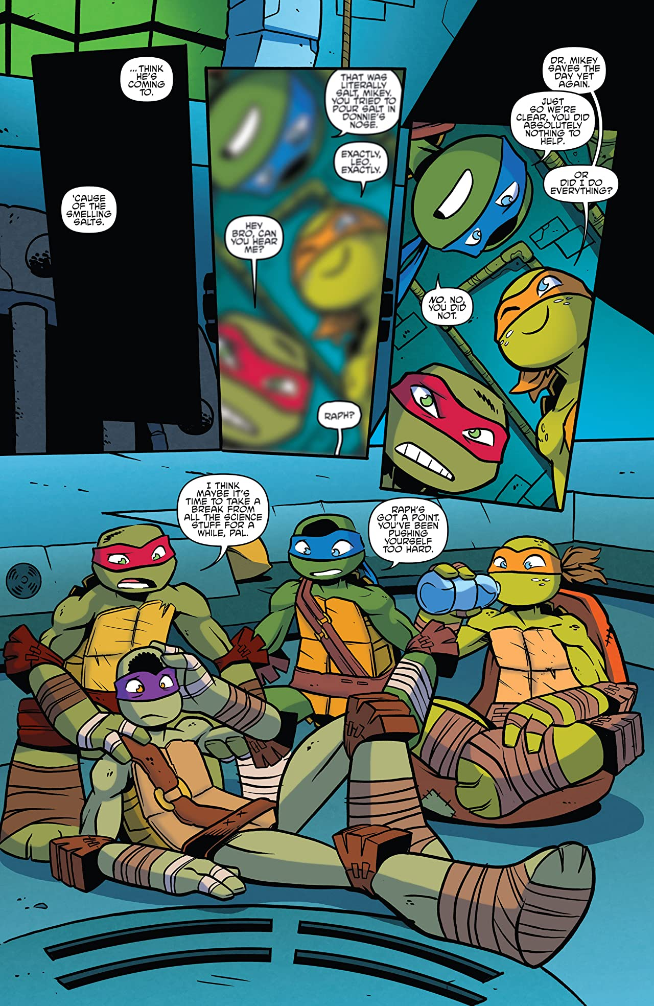 Teenage Mutant Ninja Turtles: Amazing Adventures #13