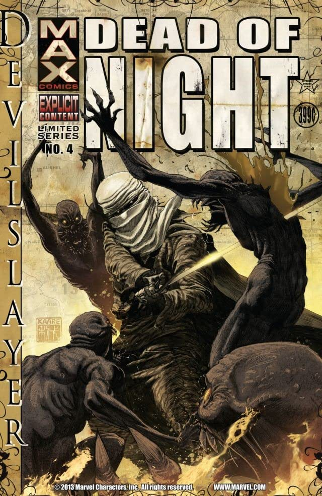 Dead of Night Featuring Devil-Slayer #4 (of 4)