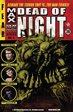 Dead of Night Featuring Man-Thing #1 (of 4)