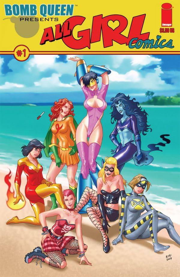 Bomb Queen Presents: All Girl Comics #1