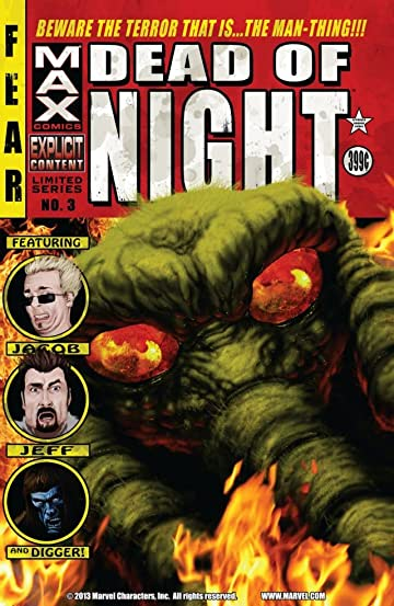 Dead of Night Featuring Man-Thing #3 (of 4)