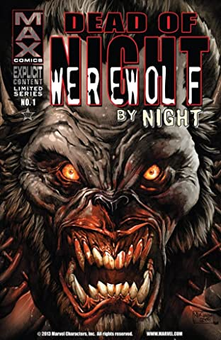 Dead of Night Featuring Werewolf By Night #1 (of 4)