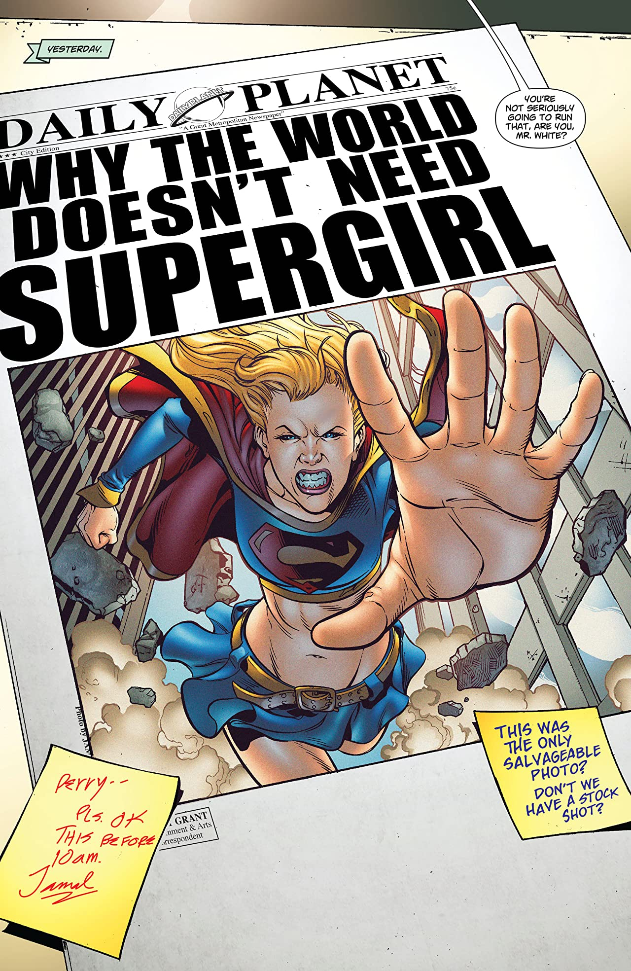 Supergirl: Who is Superwoman? - New Edition