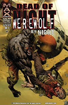 Dead of Night Featuring Werewolf By Night #2 (of 4)