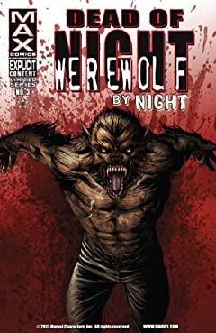 Dead of Night Featuring Werewolf By Night #3 (of 4)